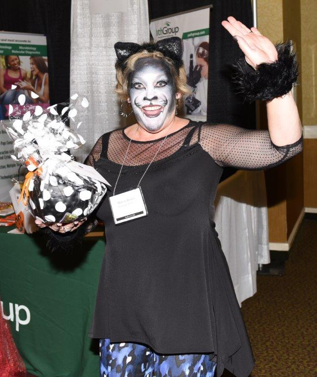 1st Place Best Female Costume Marcia Brown Pathology Partners