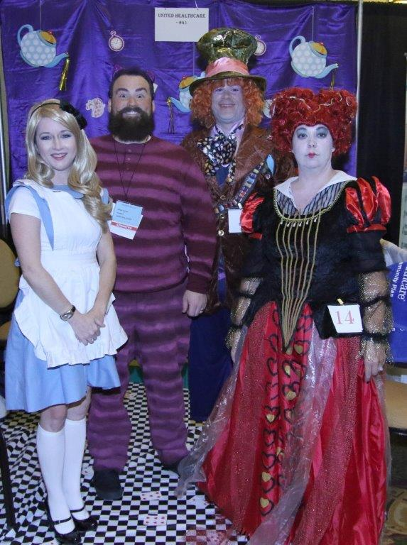 1st Place Best Theme Group Costumes United Healthcare