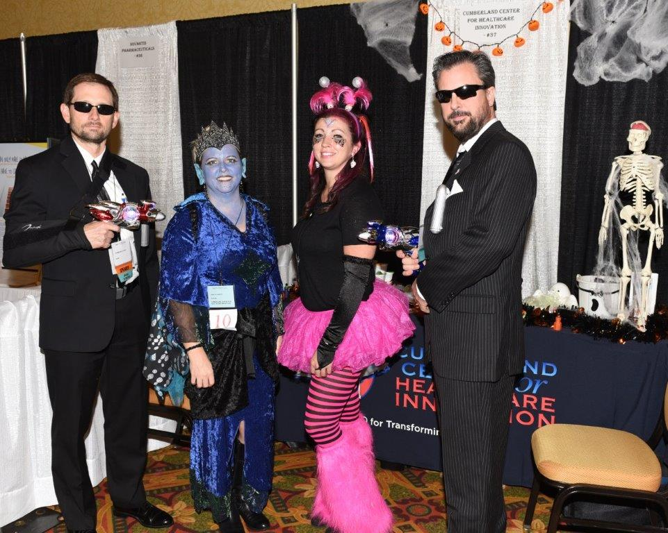 2nd Place Tie Best Theme Group Costume Cumberland Center for Healthcare Innovation