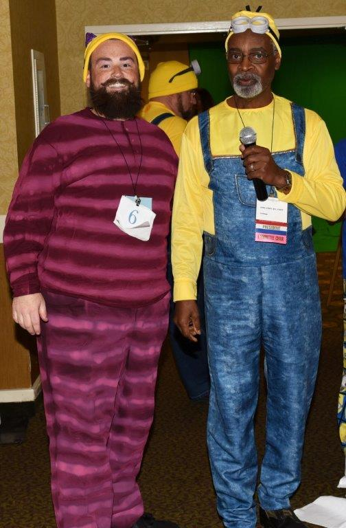 3rd Place Best Male Costume Brian Suiter United Healthcare