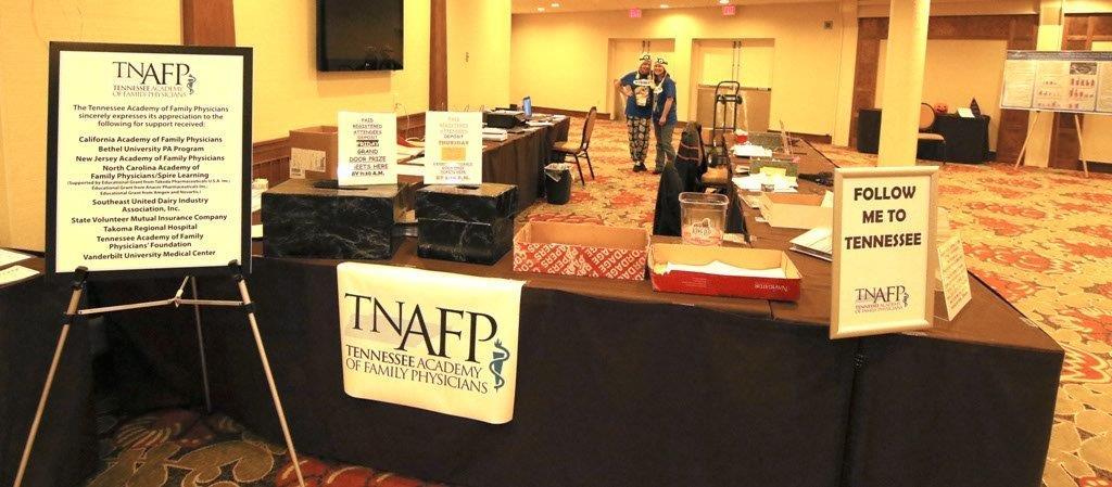 TNAFP Registration Desk