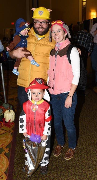 Theo Hensley Family Halloween