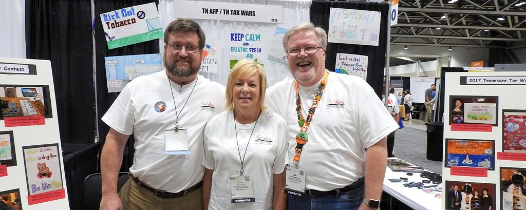 TNAFP Booth at AAFP NC 2017