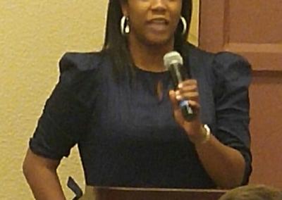 Bianca Hill, TNAFP Student Voting Delegate,