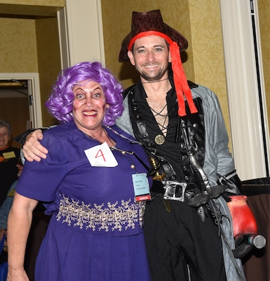 2nd Place Best Female Costume - Marcia Brown, Pathology Partners