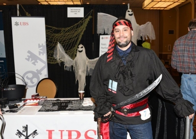 2nd Place Best Male Costume - James Austin, UBS Financial