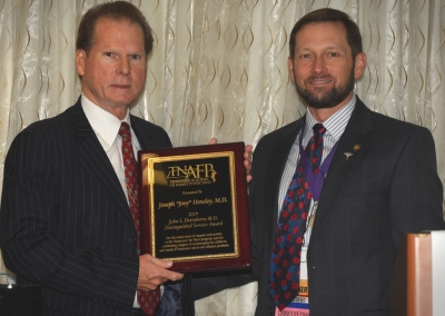 2019 John S. Derryberry M.D. Distingished Service Award Recipient Joey Hensley, M.D., Hohenwald